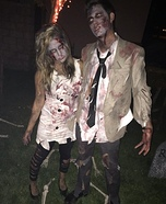 DIY Zombie Couple Costumes