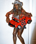 Zombie Daisy Duke Homemade Costume