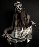 Scary Halloween costume ideas - Zombie Doll Costume