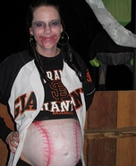 Zombie Giants Fan Homemade Costume