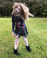 Zombie Girl Homemade Costume