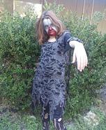 Zombie Girl Homemade Costume