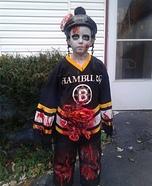 Zombie Hockey Player Homemade Costume