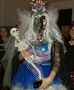 Zombie Mermaid Bride Homemade Costume