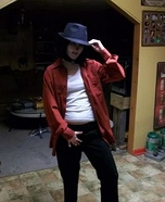 Zombie Michael Jackson Homemade Costume