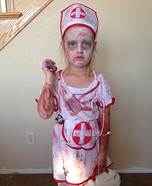 Zombie Nurse Girl Costume