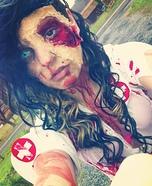 DIY Zombie Nurse Costume