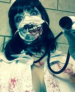 Zombie Nurse Homemade Costume
