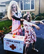 Zombie Nurse Apocalypse Homemade Costume