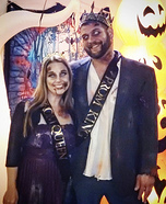 Zombie Prom King and Queen Homemade Costume