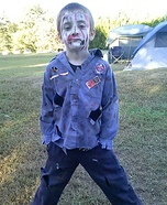 Zombie Scout Homemade Costume