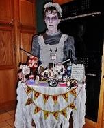 Zombie Snacks Homemade Costume