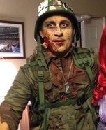 Zombie Soldier Homemade Costume