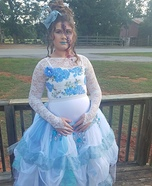Zombie Southern Belle Princess Homemade Costume