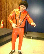 Zombie Thriller Michael Jackson Homemade Costume