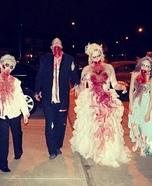 Zombie Wedding Family Costume