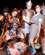 Group costume ideas - Zombie Wizard of Oz Group Costumes