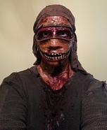 Homemade Zombie Zipper Costume