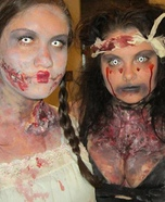 Zombie Homemade Halloween Costumes