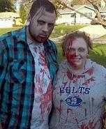 Couples Zombies Costume