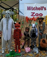 Zoo Family Homemade Costume