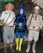 Zoo Keepers with Peacock Homemade Costume