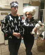 Zoolander and Mugatu Couple Homemade Costume
