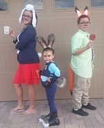 Zootopia Homemade Costume