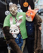 Zootopia Family Homemade Costume