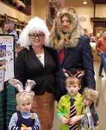 Zootopia Movie Family Costume