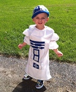 Toddler R2D2 Costume