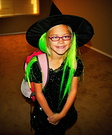 A Cute Little Witch Halloween Costume