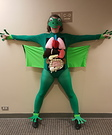 A Dissected Frog Costume