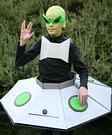Alien in his Spaceship DIY Costume