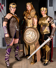 Amazons from Wonder Woman Costume
