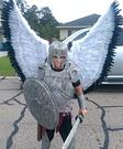 Angel Warrior Costume