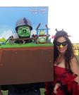 Angry Birds Couple Costumes
