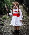 Annabelle Girl's Costume