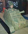 Army Tank Driver Homemade Costume