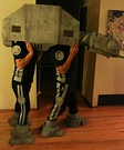 Homemade AT-AT Imperial Walker Costume