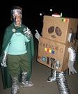 DIY AWESOM-O & Professor Chaos Costumes