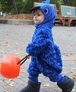 Animal costume ideas for babies - Baby Blue Macaw Costume
