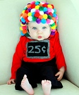 Gumball Machine Baby Halloween Costume