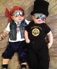 Baby Guns N' Roses Costumes