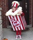 Bag of Popcorn Homemade Costume