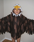Bald Eagle Homemade Costume
