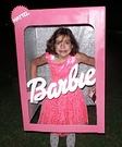 Barbie in a Box Homemade Costume