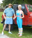 Homemade Barbie and Ken Costumes