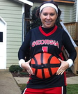Basketbelly Player Pregnant Costume