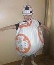 BB-8 Homemade Costume